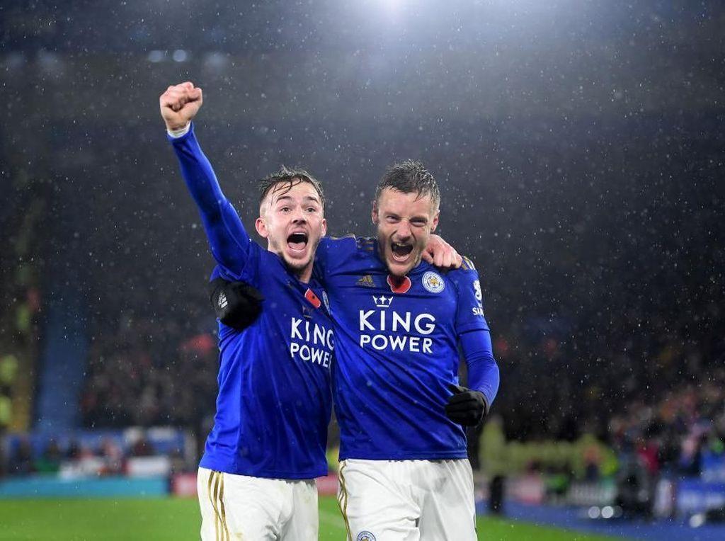 Ketika Rubah-rubah Leicester Jinakkan Meriam London