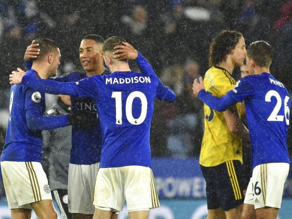9 Fakta setelah Leicester Membungkam Arsenal