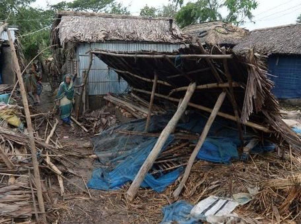 Korban Jiwa Topan Bulbul di Bangladesh dan India Bertambah Jadi 24 Orang