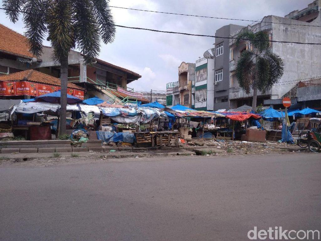 Pasar Pringgan di Medan yang Kumuh dan Jorok