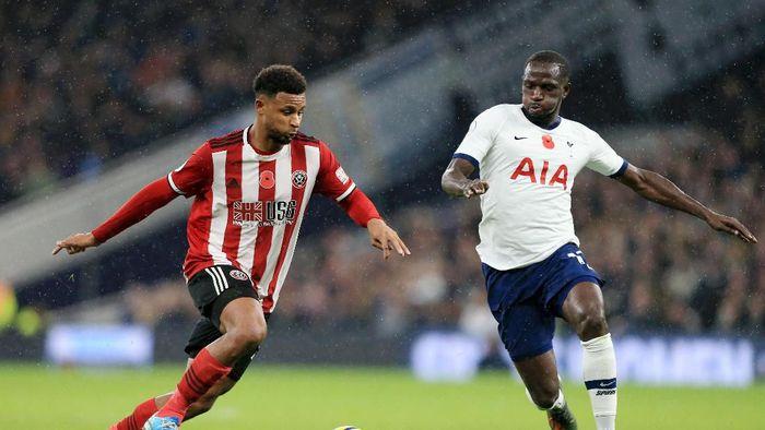 Tottenham Hotspur berimbang 1-1 kontra Sheffield United. (Foto: Stephen Pond/Getty Images)