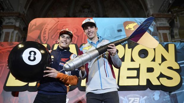 Marc dan Alex sama-sama jadi juara dunia di musim 2019.