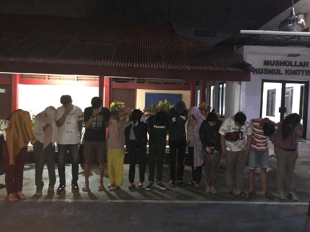 Operasi Pekat di Makassar, Polisi Amankan 6 Pasangan Mesum