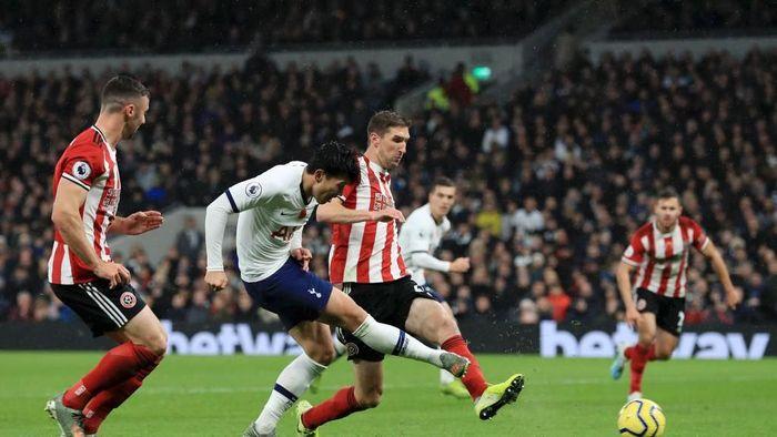 Sheffield menahan imbang Tottenham Hotspur 1-1 (Foto: Matthew Lewis/Getty Images)