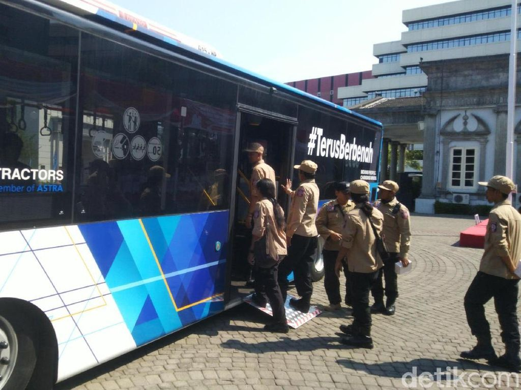 Bus Low Deck Diujicoba Jadi Bus Trans Semarang