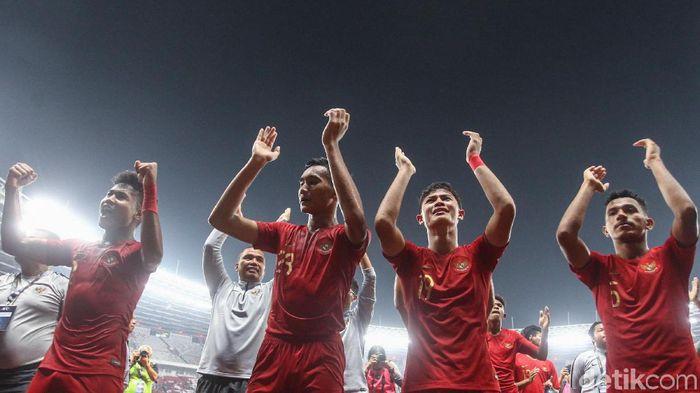 Timnas Indonesia U-19 lolos ke putaran final Piala Asia U-19 2020. (Foto: Rifkianto Nugroho/detikSport)