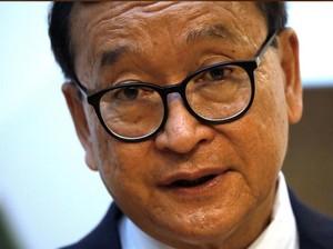 Pimpinan Oposisi Kamboja Sam Rainsy: Demokrasi Akan Menang!