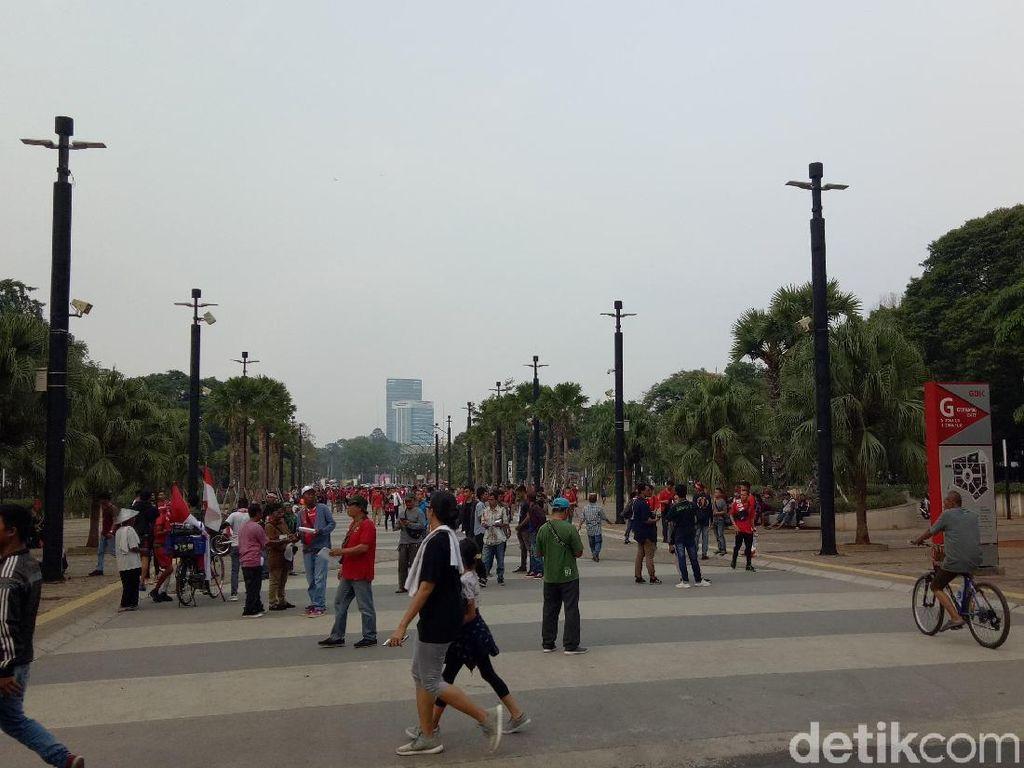 Indonesia Vs Korea Utara, Ajang Rekreasi Keluarga
