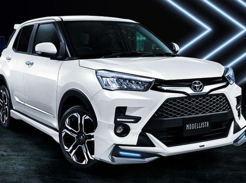 Toyota Raize Versi Lebih Ganteng