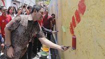 Hari Pahlawan, Walkot Hendi Percantik Kampung Pelangi