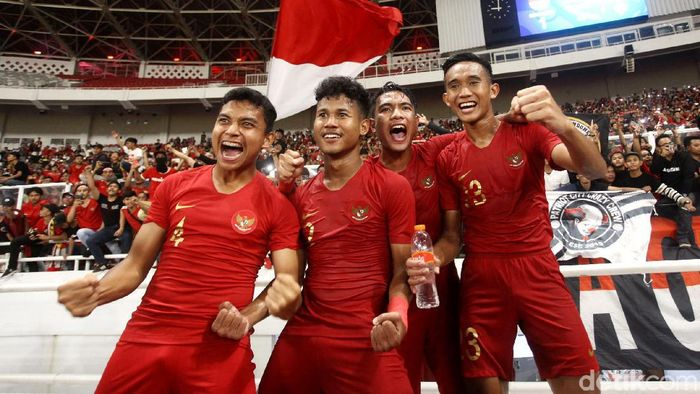Timnas Indonesia lolos ke Piala Asia U-19 2020 (Foto: Rifkianto Nugroho)