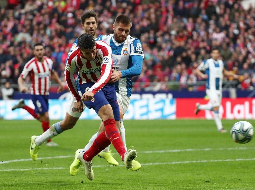 Hasil Liga Spanyol: Atletico Madrid Tundukkan Espanyol 3-1
