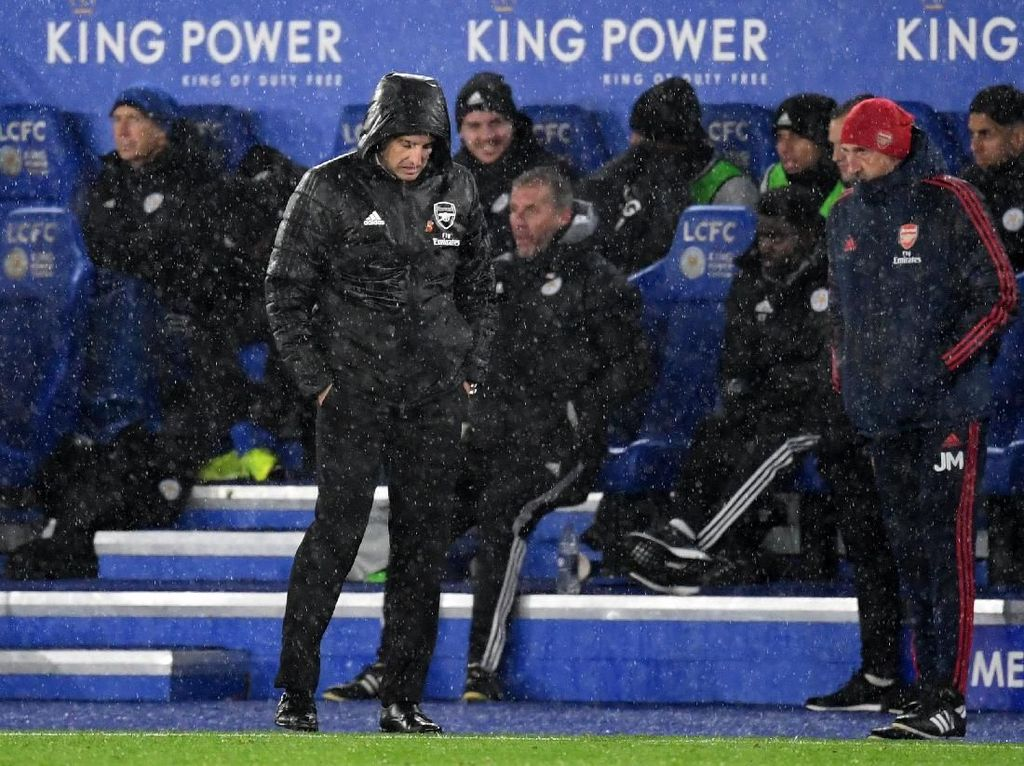 Bisa-bisanya Arsenal Dikalahkan Leicester, Emery