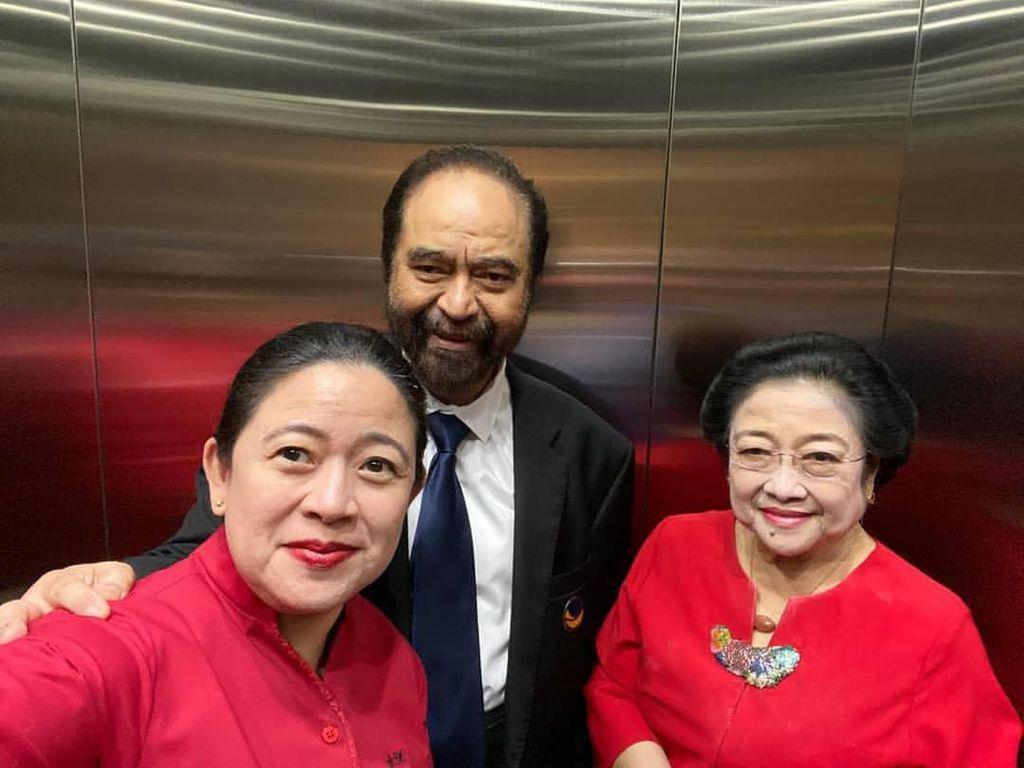 Puan Tegaskan Megawati-Paloh Tak Renggang: Politik Ada Dinamika Biasa Saja