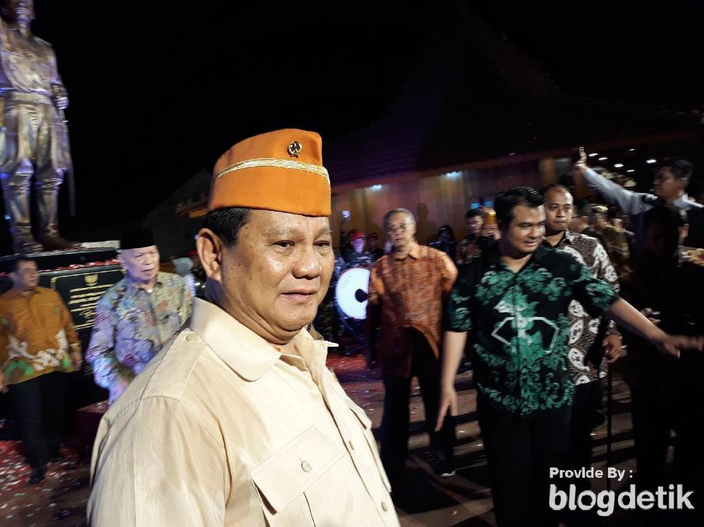Prabowo: Bangun Kekuatan Pertahanan Indonesia Agar Tak Diganggu