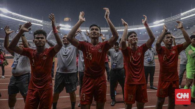 Timnas Indonesia U-19 lolos ke putaran final Piala Asia U-19 2020. (