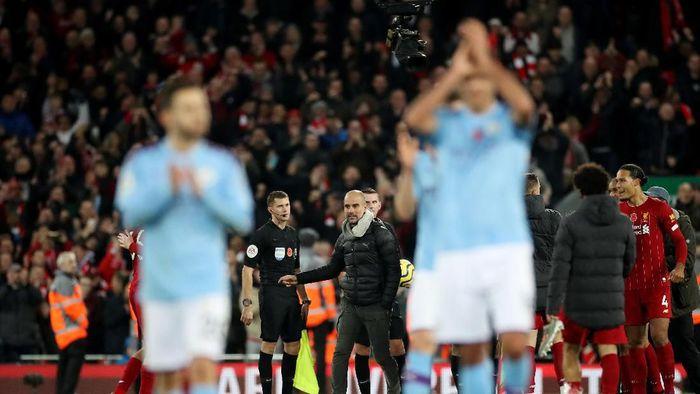 Pep Guardiola mengungkapkan, tantangan besarnya di Man City sudah selesai. (Foto: Carl Recine / Action Images via Reuters)