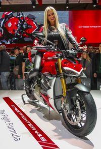 Meluncur di Milan, Ducati Streetfighter V4 Makara Motor Tercantik