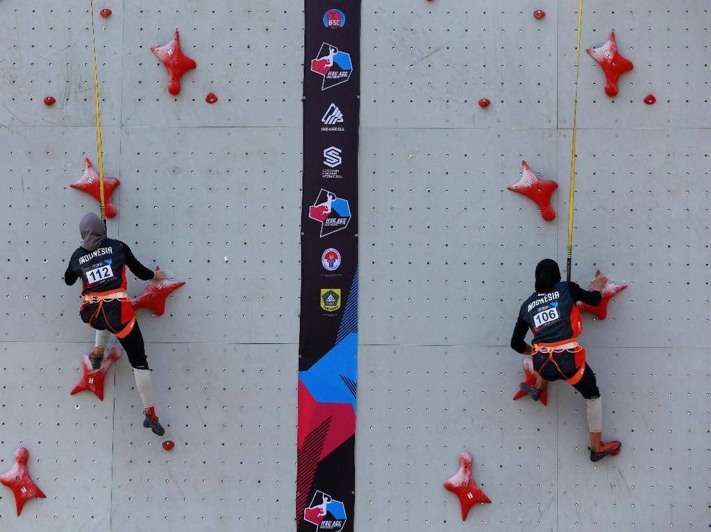 Merah Putih Kembali Berkibar di Kejuaraan Asia Panjat Tebing