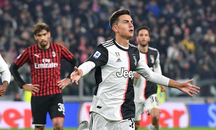 Juventus melanjutkan dominasi dan tren bagus mereka di musim ini. Bianconeri meraih kemenangan tipis 1-0 saat menjamu AC Milan. Alessandro Di Marco/ANSA via AP.