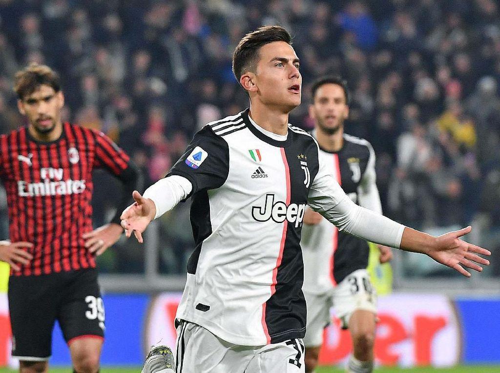 Dybala Sang Pembeda di Laga Seru Juventus Vs AC Milan