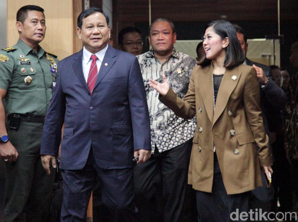Menhan Prabowo: Indonesia Mampu Buat Bahan Bakar Roket!