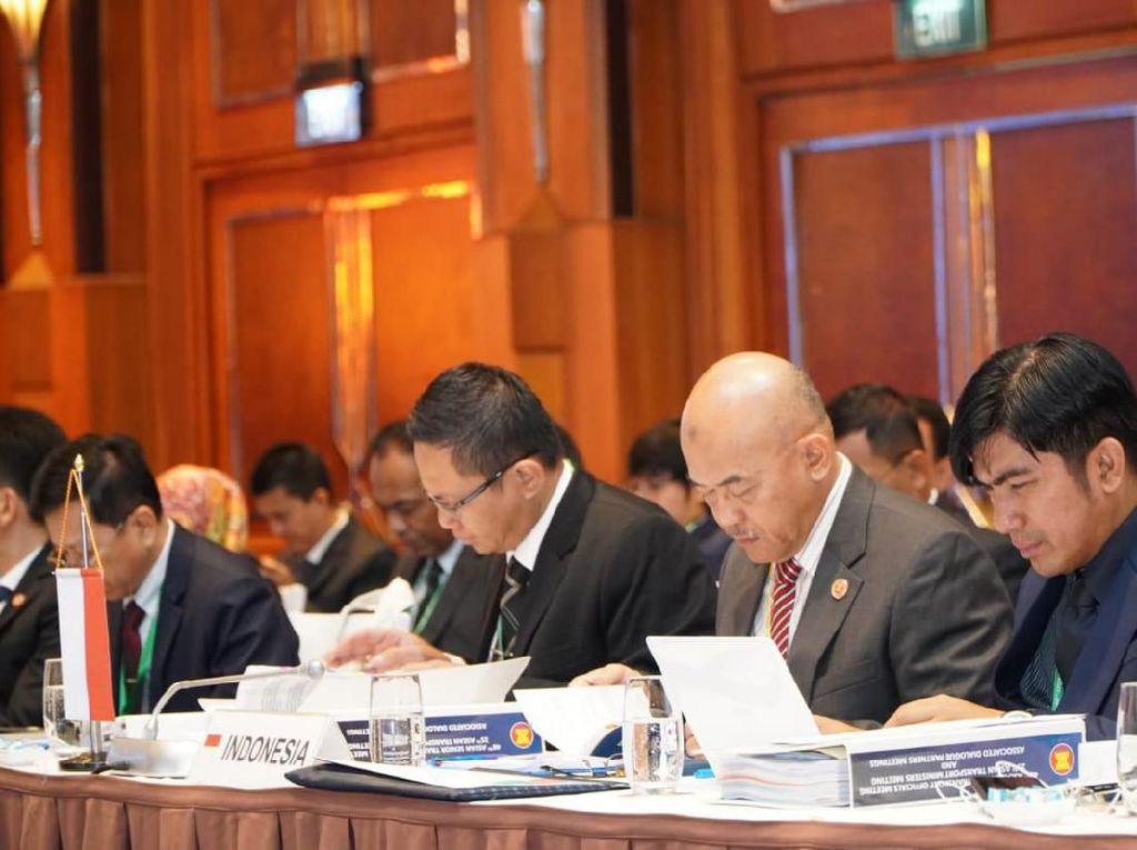 Tingkatkan Kemajuan Transportasi, Indonesia Ikuti Forum ASEAN STOM