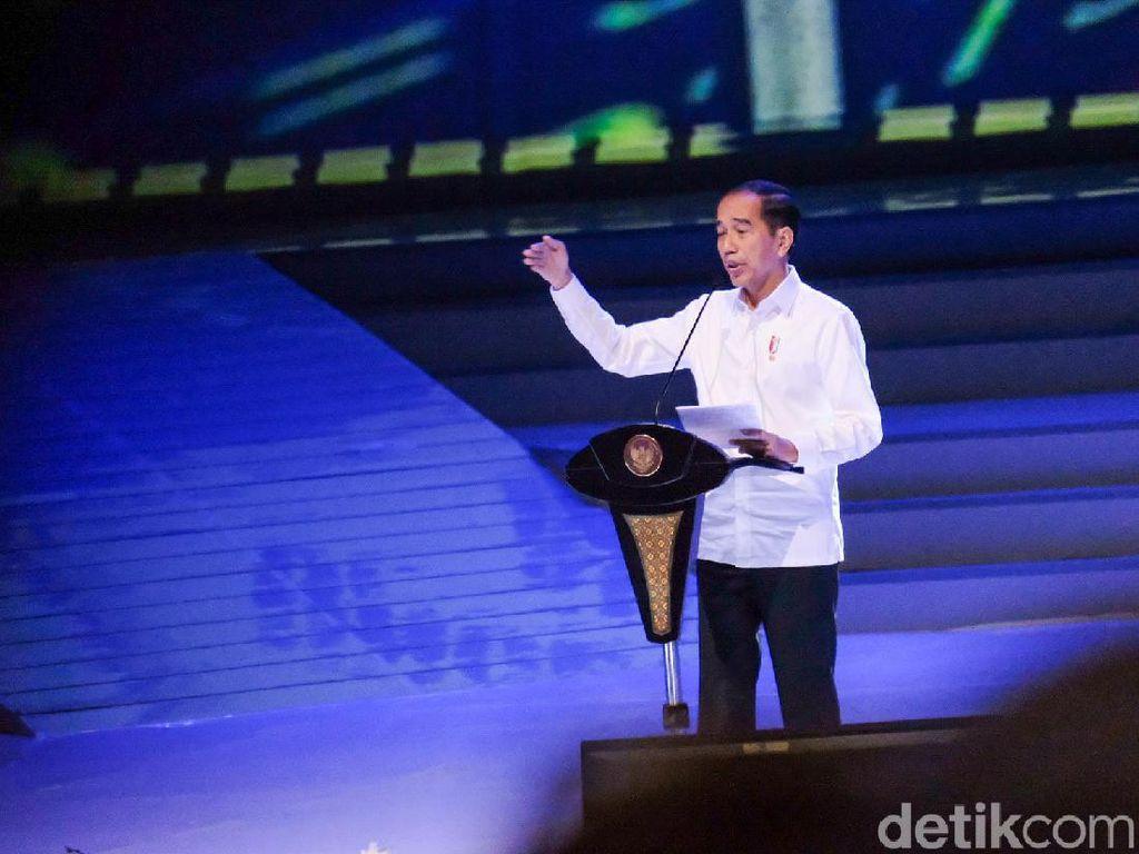 Pakar Ekspresi: Emosi Nyinyir Saat Jokowi Bicara Pelukan di Depan Paloh