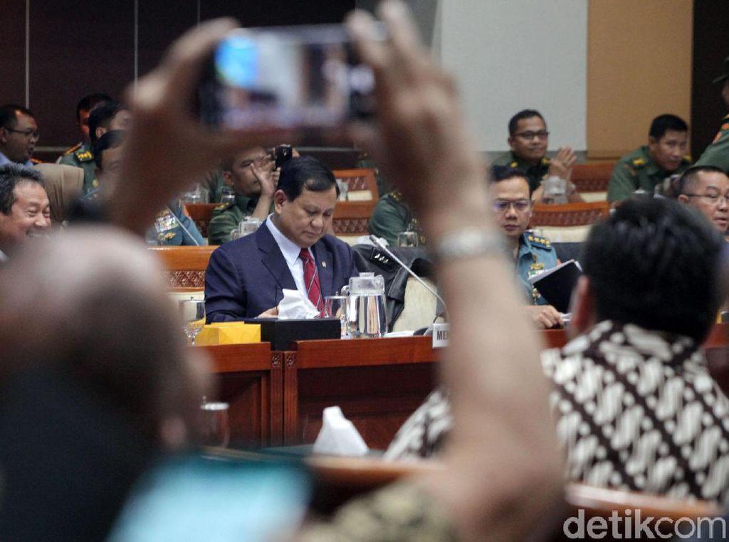 Video Menhan Prabowo Bicara Konsep Perang Rakyat Semesta
