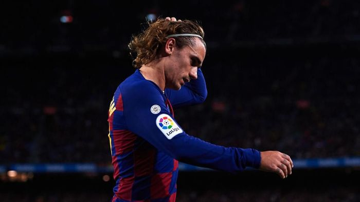 Performa Antoine Griezmann di Barcelona belum memuaskan (Foto: Alex Caparros/Getty Images)