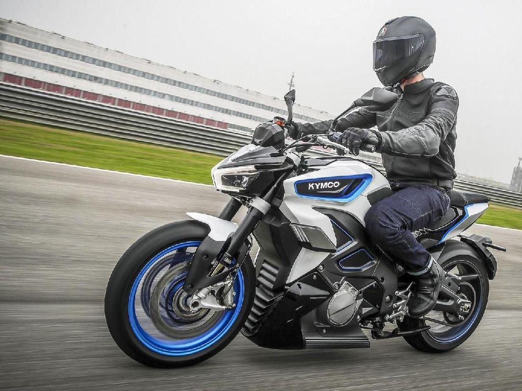 Motor Listrik Besutan Kymco Ini Siap Rebut Hati Rider yang Masih Setia Isi Bensin