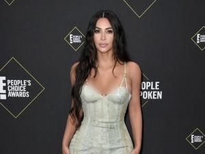 Kim Kardashian Dipuji karena Lekuk Tubuhnya