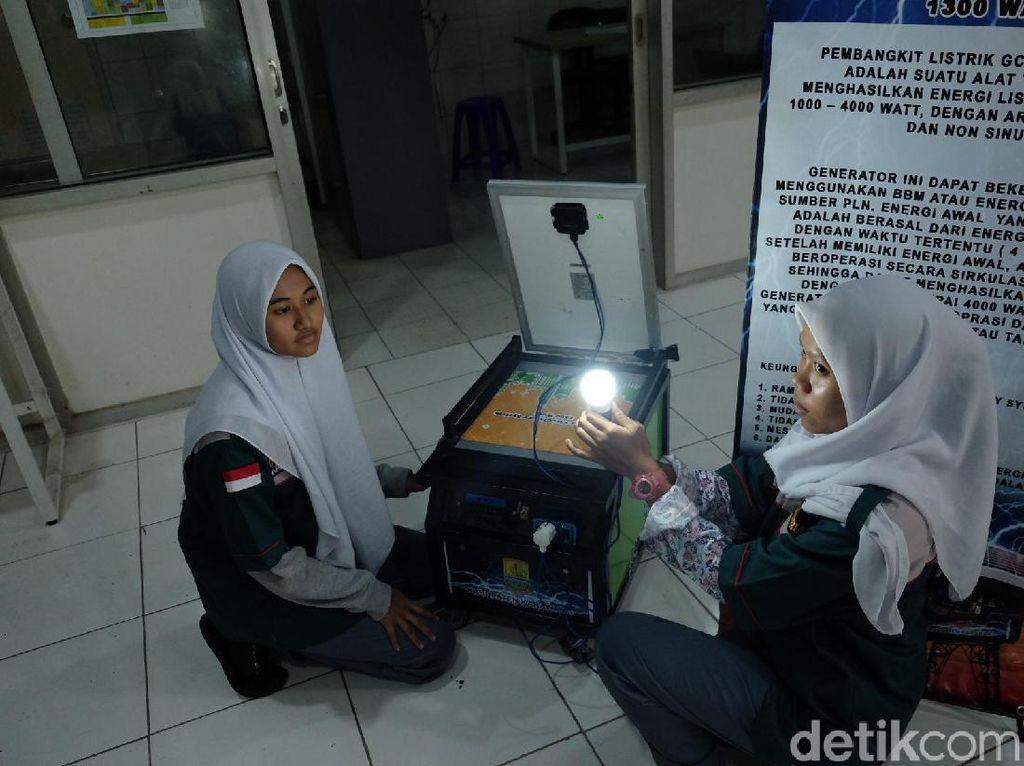Keren.. Siswa SMK di Karawang Ciptakan Generator Ramah Lingkungan