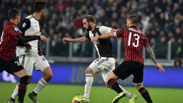 AC Milan kalah 0-1 dari Juventus di Liga Italia (Foto: Tullio M. Puglia/Getty Images)