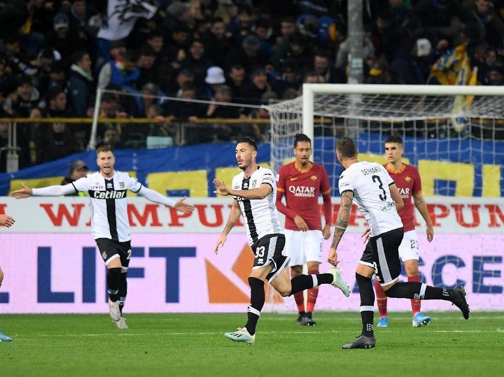 Hasil Liga Italia: Roma Keok di Markas Parma