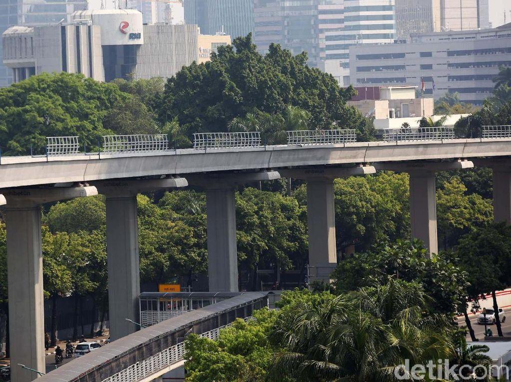 LRT Bakal Diteruskan ke Bogor, Telan Dana Rp 12 Triliun