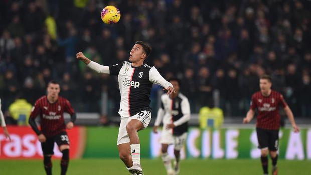 Paulo Dybala jadi pahlawan Juventus dari bangku cadangan