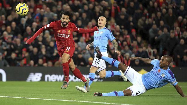 Liverpool mengalahkan Manchester City 3-1.