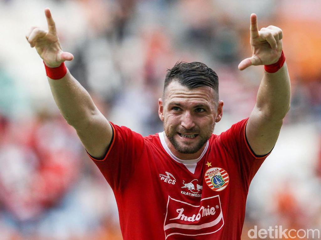 Marko Simic Paling Hobi Jebol Gawang Tiga Klub Ini di Liga 1