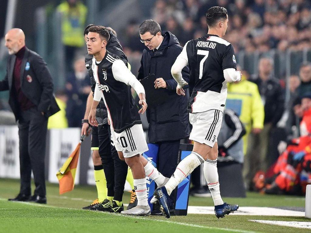 Ronaldo Ngambek Diganti, Sarri Ungkap Alasannya