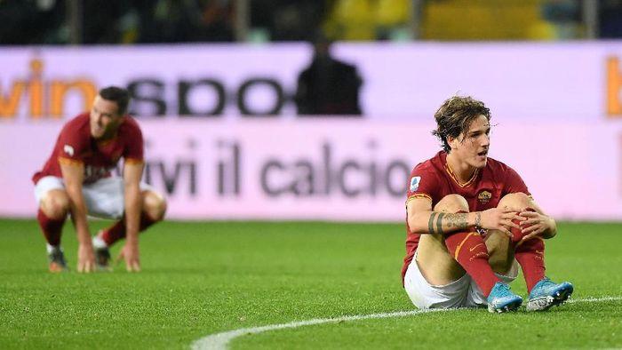 AS Roma dikalahkan Parma 0-2 dalam lanjutan Liga Italia (Foto: Alberto Lingria/Reuters)