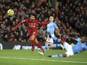 Jadwal Liga Inggris Pekan Kedelapan, Waktunya Man City Vs Liverpool