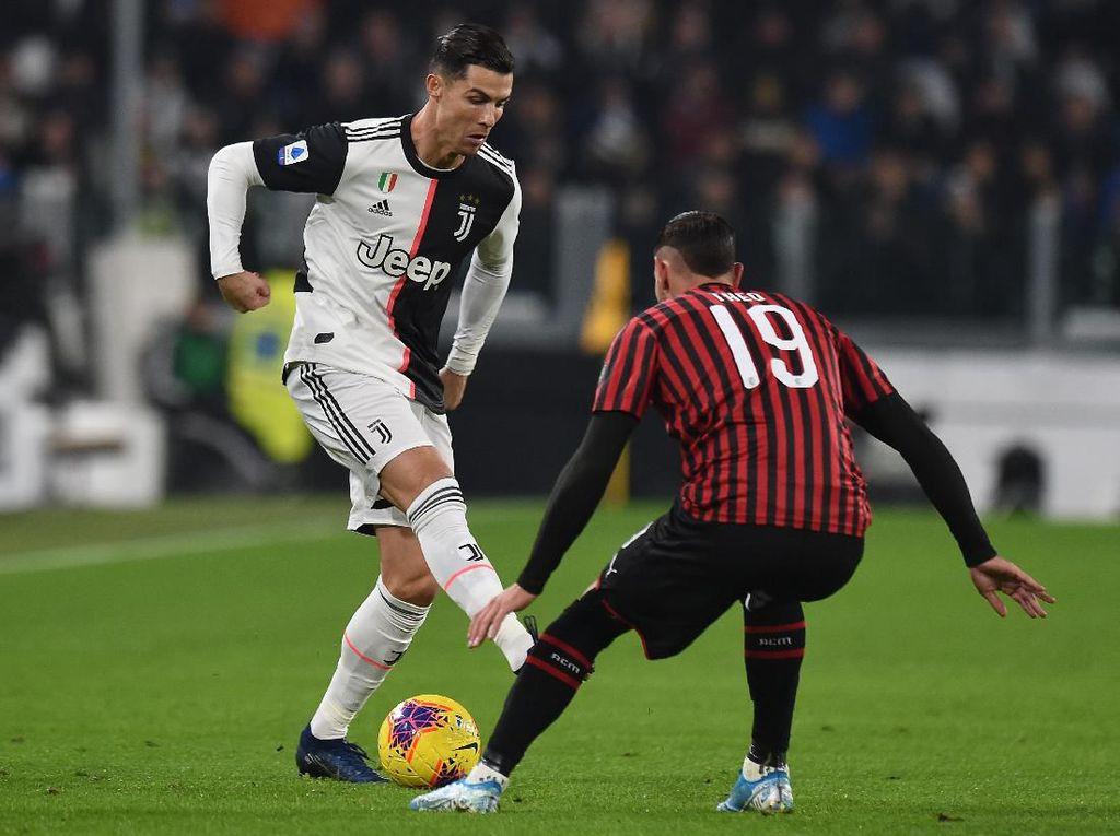Juventus VS AC Milan: Gol Tunggal Dybala Menangkan Bianconeri