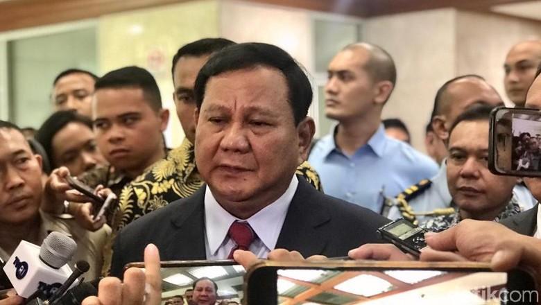 Menhan Prabowo: Strategi Tak Boleh Didasarkan Doa