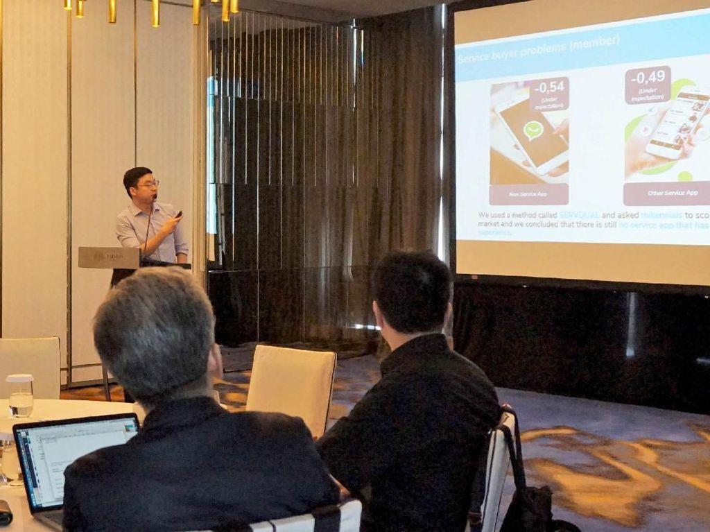Menjaring Startup Calon Binaan