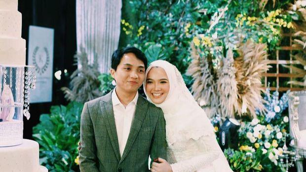 Erin dan Mirul saat menikah