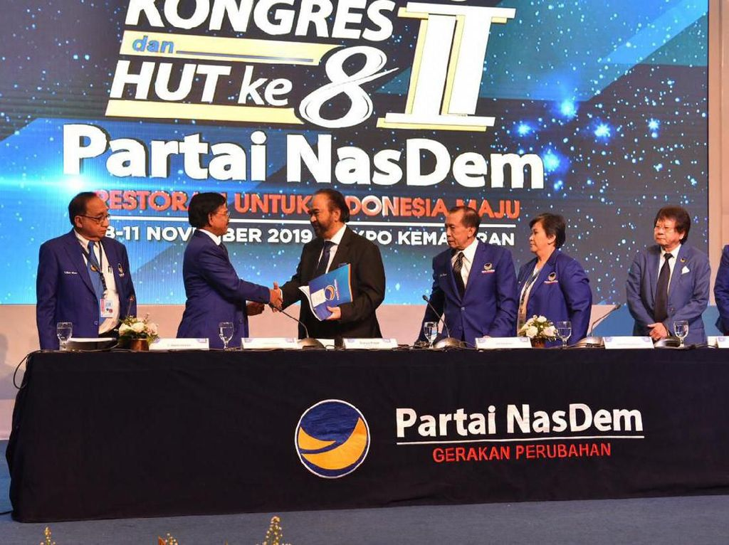 Syukuran HUT Ke-8, NasDem: Insyaallah Megawati Hadir