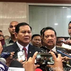 Menhan Prabowo Terima Kunjungan Kehormatan Dubes Malaysia-India