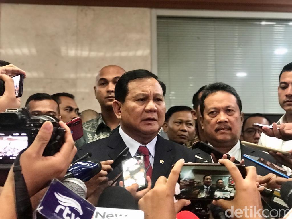 Prabowo Akan Sampaikan Strategi Pertahanan Negara ke Jokowi Januari 2020