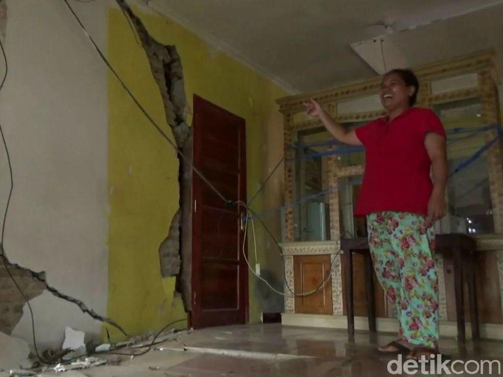 11 Rumah di Purwakarta Rusak Terdampak Proyek Kereta Cepat